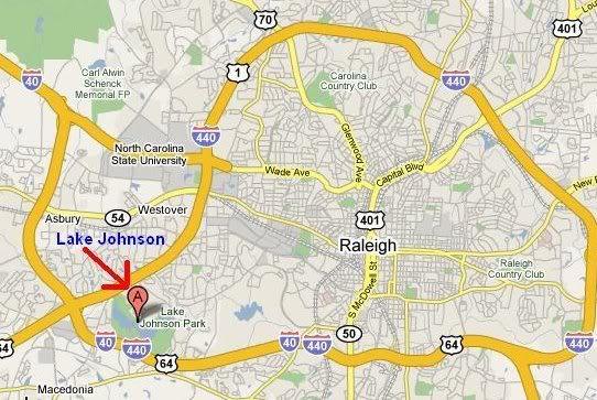 Shabbat Tracking Larry On His Sabbatical Journey - Johnson lake map